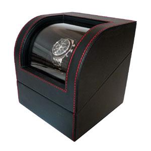 IG-ZERO 105-1 IGIMI ウォッチワインダー 黒色合皮 1本巻き [IGZERO105J1]【返品種別B】