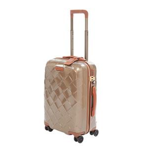 3-989455150 ストラティック スーツケース ハードシェル(Sサイズ)シャンパン Stratic Leather & More(レザー&モア) 3-9894-55