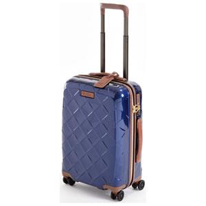 3-990255030 ストラティック スーツケース ハードシェル(Sサイズ)ネイビーブルー【日本限定色】 Stratic Leather & More(レザー&モア) 3-9902-55