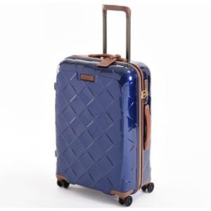 3-990265030 ストラティック スーツケース ハードシェル(Mサイズ)ネイビーブルー【日本限定色】 Stratic Leather & More(レザー&モア) 3-9902-65
