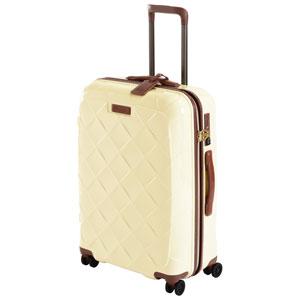 3-990265170 ストラティック スーツケース ハードシェル(Mサイズ)ミルク【日本限定色】 Stratic Leather & More(レザー&モア) 3-9902-65