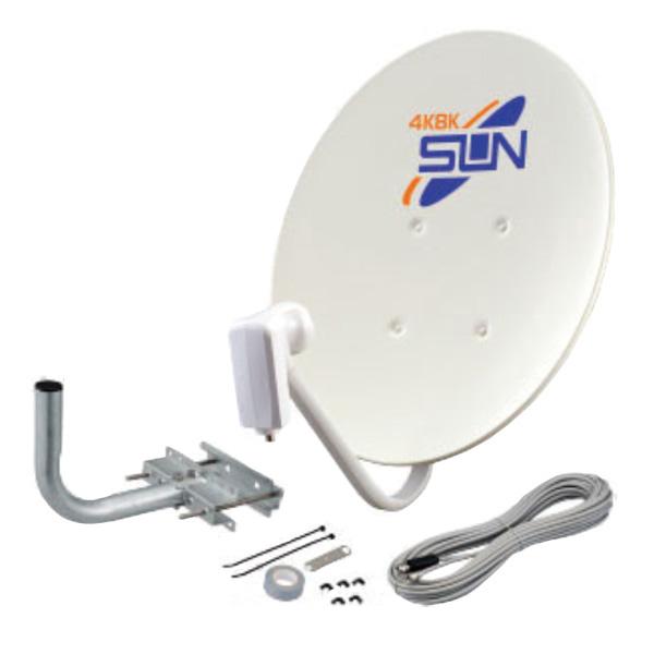 CBD-K045-S サン電子 4K・8K衛星放送対応 BS・110°CSアンテナセット