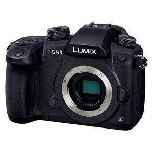DC-GH5-K パナソニック ミラーレス一眼カメラ「LUMIX GH5」ボディ Panasonic