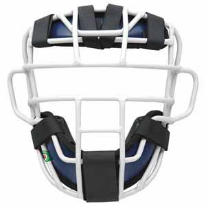 Z-BLM3295A-2913 ゼット 軟式野球用マスク(SG基準対応)(ネイビー/シルバー) ZETT プロステイタス