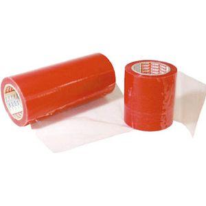 4848-1000-100 テサテープ 保護テープ 幅1000mm×長さ100m 1巻(半透明赤)