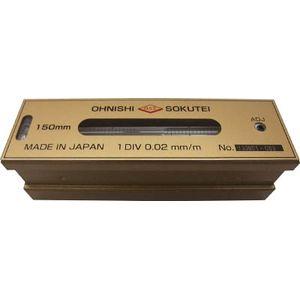 201-250 大西測定 平形精密水準器(一般工作用)250mm