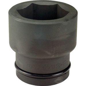 1.1/2WS-60 フラッシュツール インパクト ショート ソケット 差込角38.1mm 対辺60mm