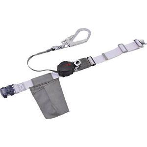 ORL-OT593SV-W-S-BP 藤井電工 なでしこ安全帯 OTバックル式 ワンハンドリトラ 白色 S寸