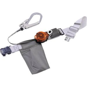 TRL-OT93-BLK-OR-SS-BP 藤井電工 なでしこ安全帯 OTバックル式 2WAYリトラ 黒色 SS寸