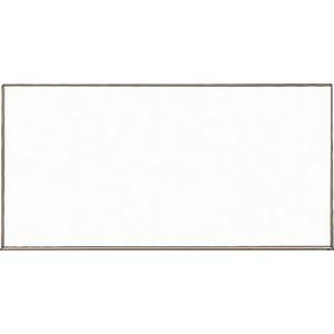 WGH-112SA トラスコ中山 スチール製ホワイトボード 白暗線 ブロンズ 900×1200