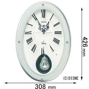 FS508W セイコークロック アミューズ時計 【ディズニー】 大人ディズニー [FS508W]【返品種別A】