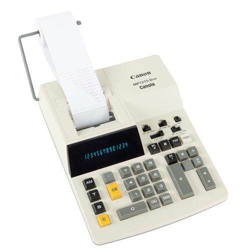 MP1215-DVII キヤノン 加算式プリンタータイプ電卓 14桁