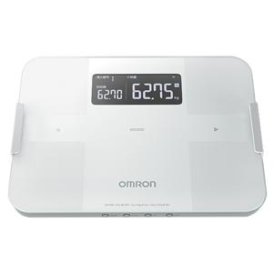 HBF-255T-W オムロン 体重体組成計 (ホワイト) OMRON カラダスキャン