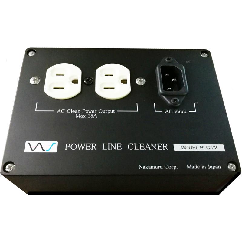 PLC-02 中村製作所 オーディオ・ビジュアル専用電源ボックス NS《 Power Line Cleaner》