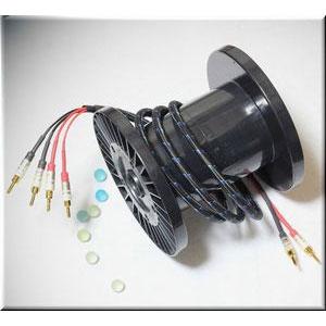 Q-10 signature Bi-wire 3.0M DHラボ 完成品スピーカーケーブル(3.0m・ペア)【バイワイヤ仕様】 DH LABS