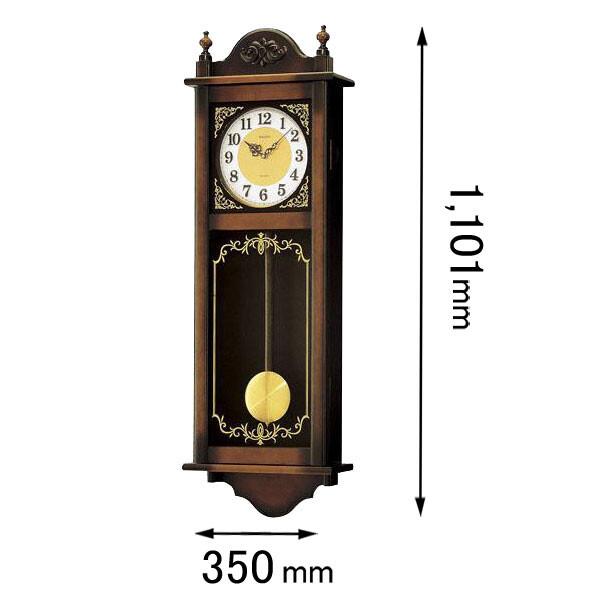 RQ307A セイコークロック 振り子付き掛け時計 [RQ307A]【返品種別A】