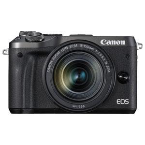 EOSM6BK-18150ISSTMLK キヤノン ミラーレスカメラ「EOS M6」EF-M18-150 IS STMレンズキット(ブラック)