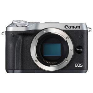 EOSM6SL-BODY キヤノン ミラーレスカメラ「EOS M6」ボディ(シルバー)