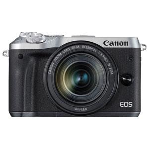 EOSM6SL-18150ISSTMLK キヤノン ミラーレスカメラ「EOS M6」EF-M18-150 IS STMレンズキット(シルバー)