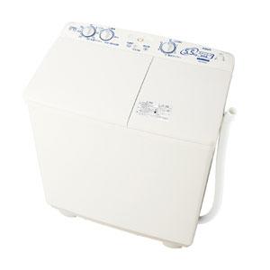 (標準設置料込)AQW-N551-W アクア 5.5kg 2槽式洗濯機 ホワイト AQUA
