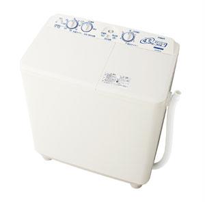 (標準設置料込)AQW-N451-W アクア 4.5kg 2槽式洗濯機 ホワイト AQUA