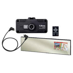 AR-W61GM 600 セルスター GPS内蔵 レーダー探知機 + ドライブレコーダーセット CELLSTAR