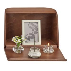 やさしい時間 祈りの手箱 ブラウン 日本香堂 イノリノテバコB