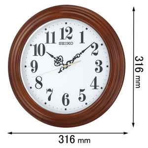KX228B セイコークロック 電波掛け時計 [KX228B]【返品種別A】