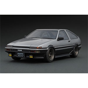 1/18 Toyota Sprinter Trueno 3Dr GT Apex (AE86) Silver 【IG0539】 ignitionモデル