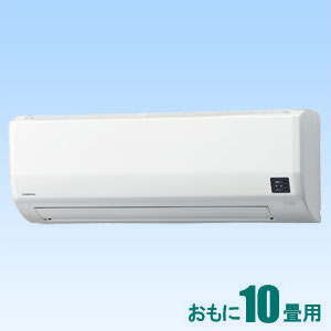 CSH-W2817R-W コロナ 【標準工事セットエアコン】(10000円分工事費込) おもに10畳用 Wシリーズ ホワイト