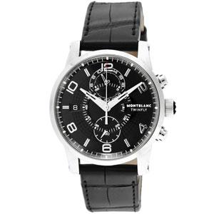 105077 モンブラン Montblanc TIMEWALKER メカニカル ツインフライ【返品種別B】