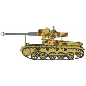 【再生産】1/35 WW.II ドイツ軍 I号対戦車自走砲 7.5cm Stuk40L/48搭載型(スマートキット)【DR6781】 ドラゴンモデル