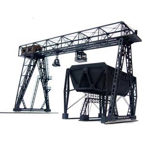 [鉄道模型]アドバンス (HO) (HO) 2005 2005 ガントリークレーンと新式複線形給炭槽(ペーパーキット), 箸屋助八:f101707c --- thomas-cortesi.com