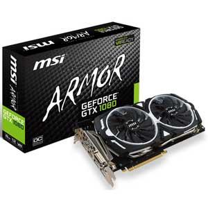 GTX 1080 ARMOR 8G OC MSI PCI-Express 3.0 x16対応 グラフィックスボードMSI GeForce GTX 1080 ARMOR 8G OC
