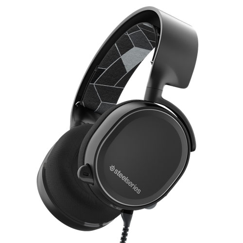 61433(STEEL) SteelSeries ゲーミングヘッドセット「Arctis 3」ブラック SteelSeries Arctis 3 Black