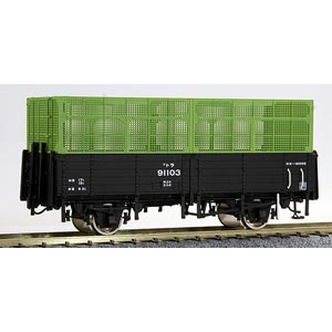[鉄道模型]ワールド工芸 (HO)16番 国鉄 トラ90000形 無蓋車 タイプA(3段カゴ) 組立キット
