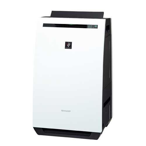 KC-HD70-W シャープ 除加湿空気清浄機(空清32畳まで/加湿18畳まで/除湿20畳まで ホワイト系) SHARP 高濃度「プラズマクラスター7000」搭載