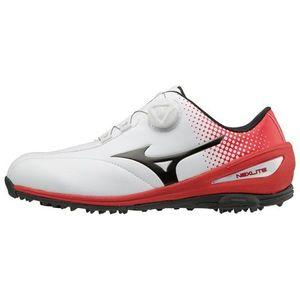 51GM1720-62-280 ミズノ メンズ・スパイクレスゴルフシューズ(ホワイト×レッド・28.0cm) MIZUNO NEXLITE 004 Boa