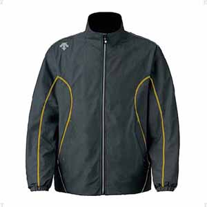 DS-DTM3912-CHY-L デサント ウインドウェア(男女兼用)(チャコール×イエロー・サイズ:L) EKS+ THERMO JACKET(中綿入り) DTM-3912