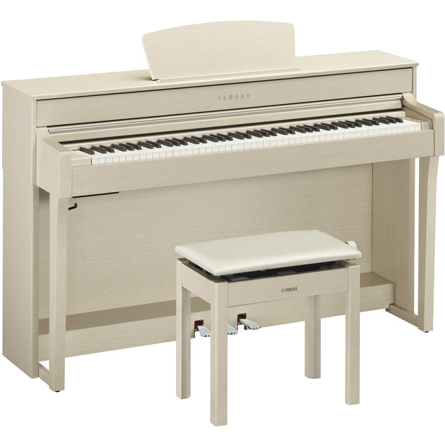 CLP-635WA ヤマハ 電子ピアノ(ホワイトアッシュ調)【高低自在椅子&ヘッドホン&ソングブック付き】 YAMAHA Clavinova(クラビノーバ)
