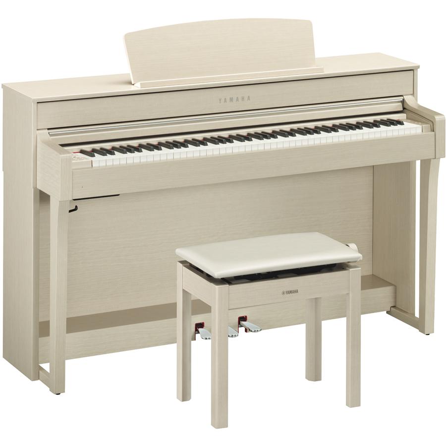 CLP-645WA ヤマハ 電子ピアノ(ホワイトアッシュ調)【高低自在椅子&ヘッドホン&ソングブック付き】 YAMAHA Clavinova(クラビノーバ)