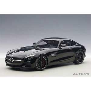 1/18 メルセデス・AMG GT S(ブラック)【76313】 オートアート