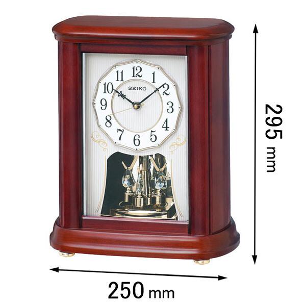 BY242B セイコークロック 置き時計 [BY242B]【返品種別A】
