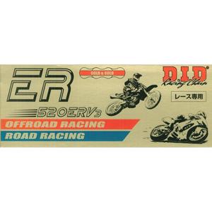 520ERV3-110ZB G&G DID バイク用チェーン(カラー:ゴールド / リンク数:110) ER レース チェーン
