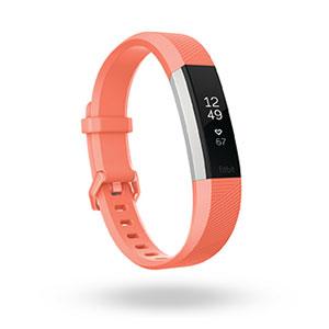 FB408SCRL-CJK フィットビット ウェアラブル活動量計・睡眠計・心拍計(コーラル/Lサイズ) Fitbit Alta HR [FB408SCRLCJK]【返品種別A】
