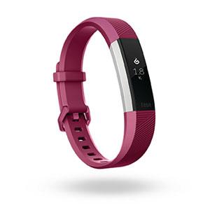 FB408SPML-CJK フィットビット ウェアラブル活動量計・睡眠計・心拍計(フクシア/Lサイズ) Fitbit Alta HR [FB408SPMLCJK]【返品種別A】