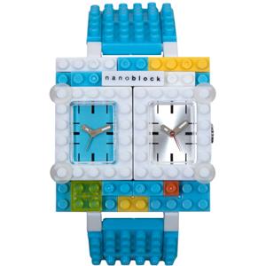 WA28 ナノブロック nanoblock デコれる腕時計 トラベラー【返品種別B】