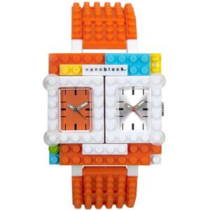 WA29 ナノブロック nanoblock デコれる腕時計 トラベラー【返品種別B】