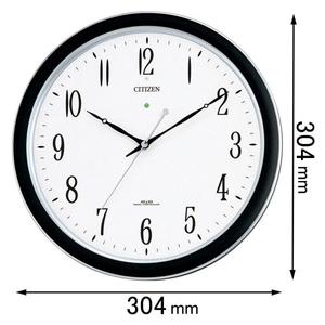 4MY691-N19 シチズン 電波掛け時計 防滴防塵型 ネムリーナM691F [4MY691N19]【返品種別A】