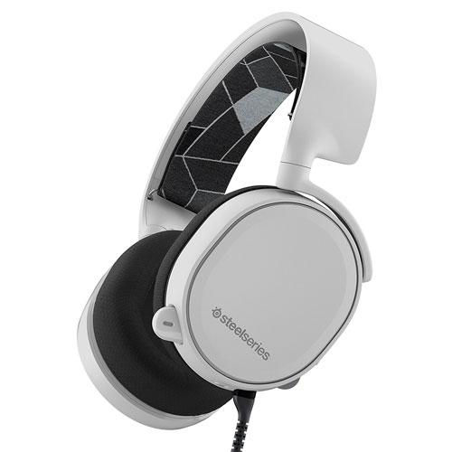 61434 PCヘッドセット SteelSeries ゲーミングヘッドセット「Arctis 3」ホワイト SteelSeries Arctis 3 White